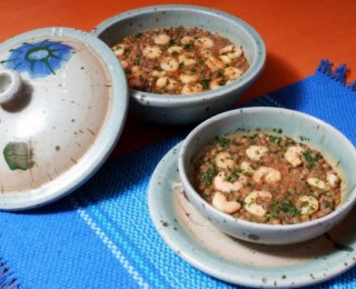 Lentils with Shrimp for Lovers: Aphrodisiac Cuisine